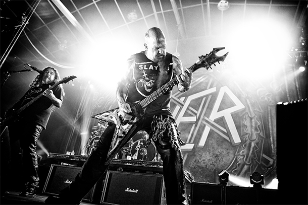 SLAYER To Tour U.S. With TESTAMENT And CARCASS