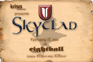 Skyclad live