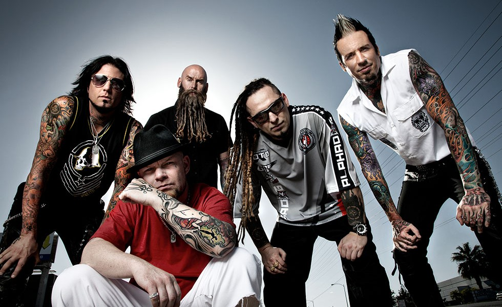 FIVE FINGER DEATH PUNCH Sued By Record Label