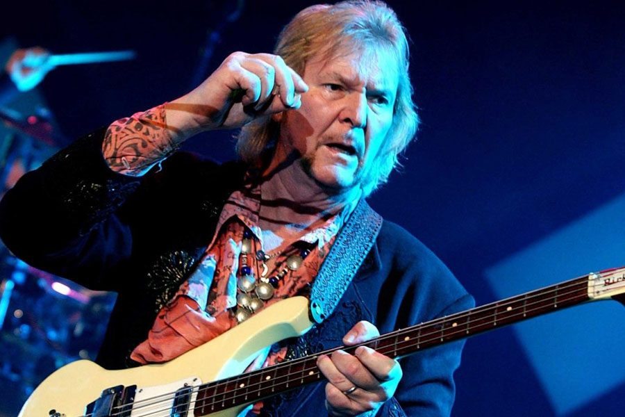 Founding YES Bassist CHRIS SQUIRE Dead At 67