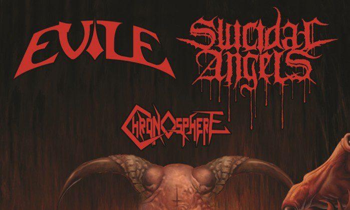 Evile+Suicidal Angels+Chronosphere-Poster