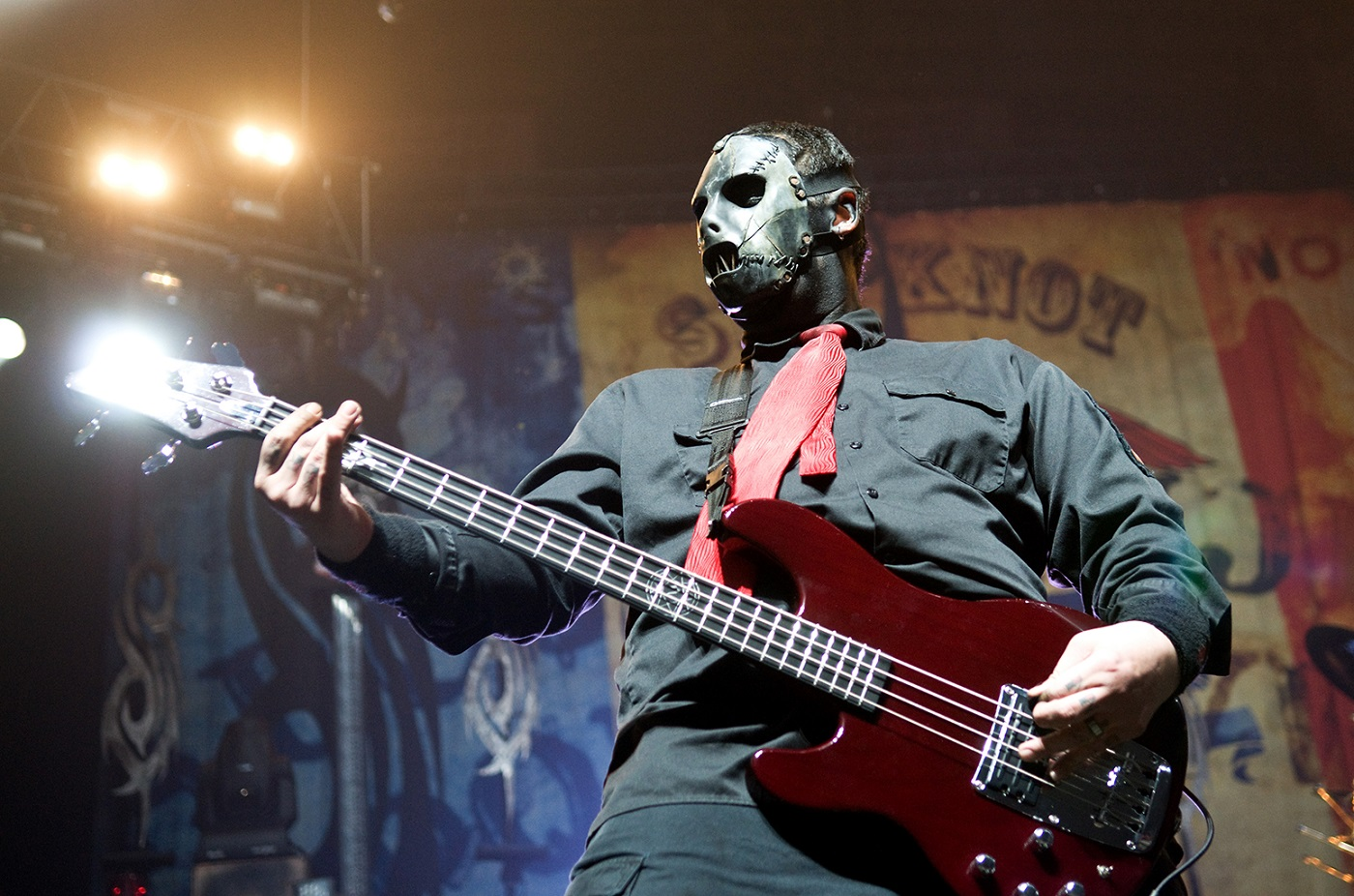 late slipknot bassist paul gray s personal and private collection to